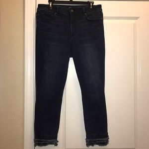 Ann Taylor Crop Jeans